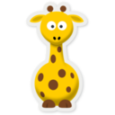New Cartoon Giraffe