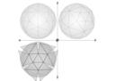 46 1 4 Net Geodesic Sphere