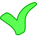 Green Ok Success Symbol