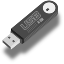 download Usb Flash Drive clipart image with 180 hue color