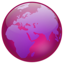 download Globe clipart image with 135 hue color