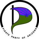 download Pirate Party Of Arizona Logo clipart image with 225 hue color