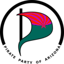 download Pirate Party Of Arizona Logo clipart image with 315 hue color