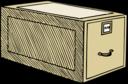 One Drawer Wooden Case