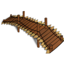 Rpg Map Symbols Wooden Bridge