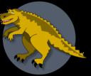 A Cartoon Dinosaur