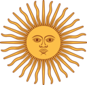 Sol De Mayo Bandera De Argentina