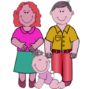 download Family 2 clipart image with 315 hue color