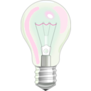 download Light Bulb clipart image with 270 hue color