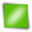 download Green Rectangle clipart image with 315 hue color