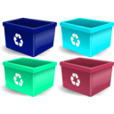 download Recycling Reciclagem clipart image with 135 hue color