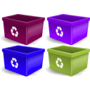 download Recycling Reciclagem clipart image with 225 hue color