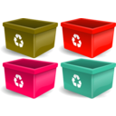 download Recycling Reciclagem clipart image with 315 hue color