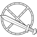 Round Sword And Shield