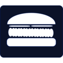 download Hamburger Icon clipart image with 225 hue color