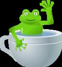 Unexpected Frog In My Tea