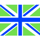 download Uk Flag clipart image with 225 hue color