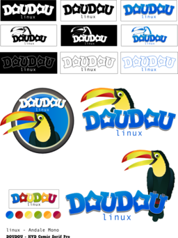 Doudou Linux Mascot And Logo Contest
