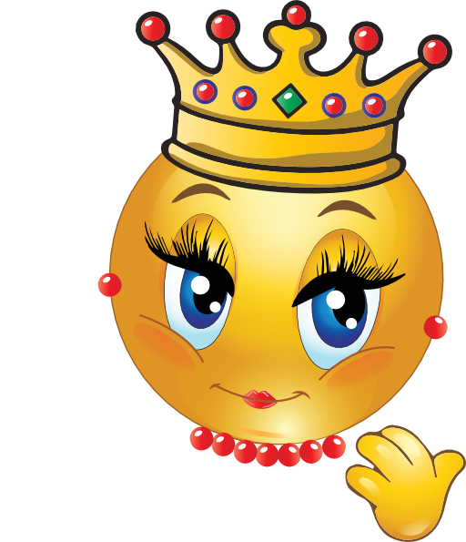 Clipart Queen Smiley Emoticon 512x512 9910 on Spring Bee Coloring Pages 9 2