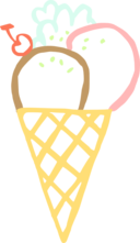 Ice Cream Cone Linda Kim 01