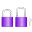 download Lock And Key clipart image with 225 hue color