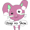 download Usagi No Show clipart image with 135 hue color