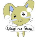 download Usagi No Show clipart image with 225 hue color