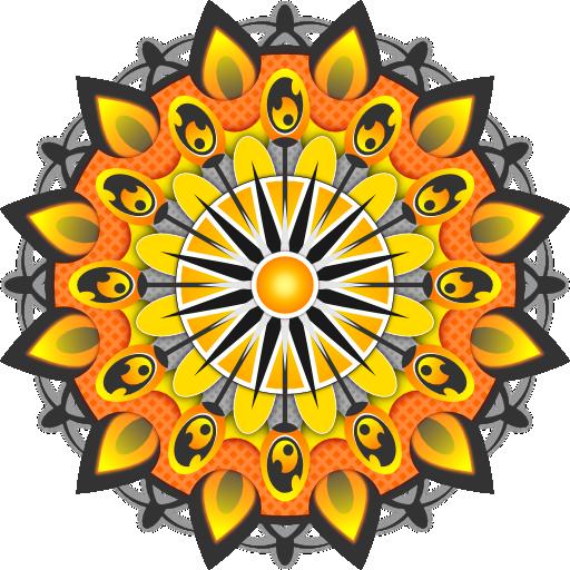 زخارف اسلامية ملونه Png