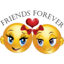 Friends Forever Smiley Emoticon