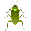 download Cockroach Cucaracha clipart image with 45 hue color