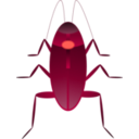 download Cockroach Cucaracha clipart image with 315 hue color