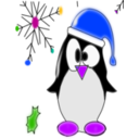 download Linux Penguin clipart image with 225 hue color