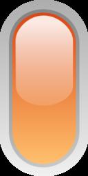 Led Rounded V Orange