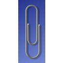 download Paperclip clipart image with 45 hue color
