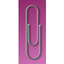 download Paperclip clipart image with 135 hue color