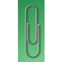 download Paperclip clipart image with 315 hue color