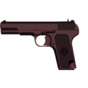 download Tokarev Tt 33 clipart image with 135 hue color