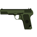 download Tokarev Tt 33 clipart image with 225 hue color