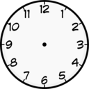 Simple Clock Clipart I2clipart Royalty Free Public Domain Clipart
