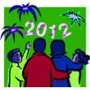 download 2012 At Night Celebration clipart image with 225 hue color