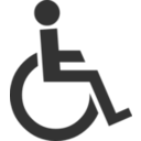 The Symbol Of Disabled Man
