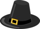 Pilgrim Hat With Black Band