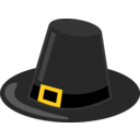 Pilgrim Hat With Black Band
