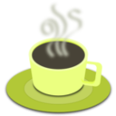 download A Cup Of Hot Tea clipart image with 45 hue color