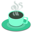 download A Cup Of Hot Tea clipart image with 135 hue color