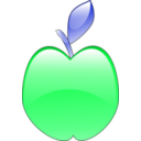 download Crystal Apple clipart image with 135 hue color