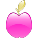 download Crystal Apple clipart image with 315 hue color