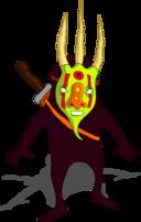 Ninja Con Mascara Ninja With Mask