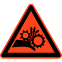 download Signs Hazard Warning clipart image with 315 hue color