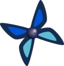 Very Simple Button Butterfly